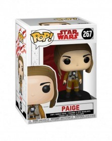 Funko POP Star Wars Episode VIII - Paige, caixa