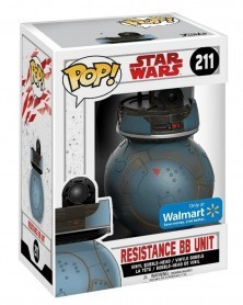 POP Star Wars Episode VIII - Resistance BB Unit (Walmart Exclusive), caixa