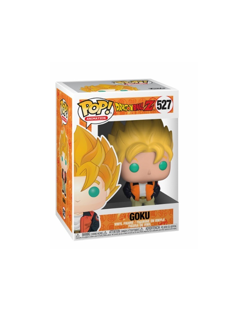 Funko POP Anime Dragonball Z - Goku (Casual), caixa