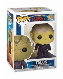 Funko POP Marvel - Captain Marvel - Talos, caixa