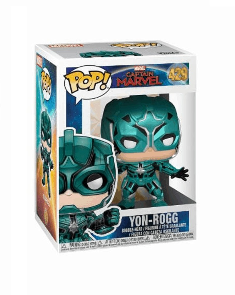 Funko POP Marvel - Captain Marvel - Yon-Rogg, caixa