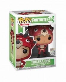 Funko POP Games - Fortnite - Tricera Ops, caixa