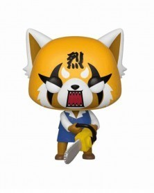 Funko POP Sanrio - Rage Aggretsuko and Chainsaw