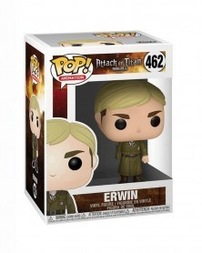 Funko POP Anime - Attack On Titan - Erwin (one-armed), caixa