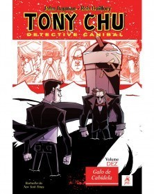 Tony Chu vol.10: Galo de Cabidela, capa
