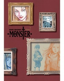 Naoki Urasawa's Monster: The Perfect Edition Vol.2, capa