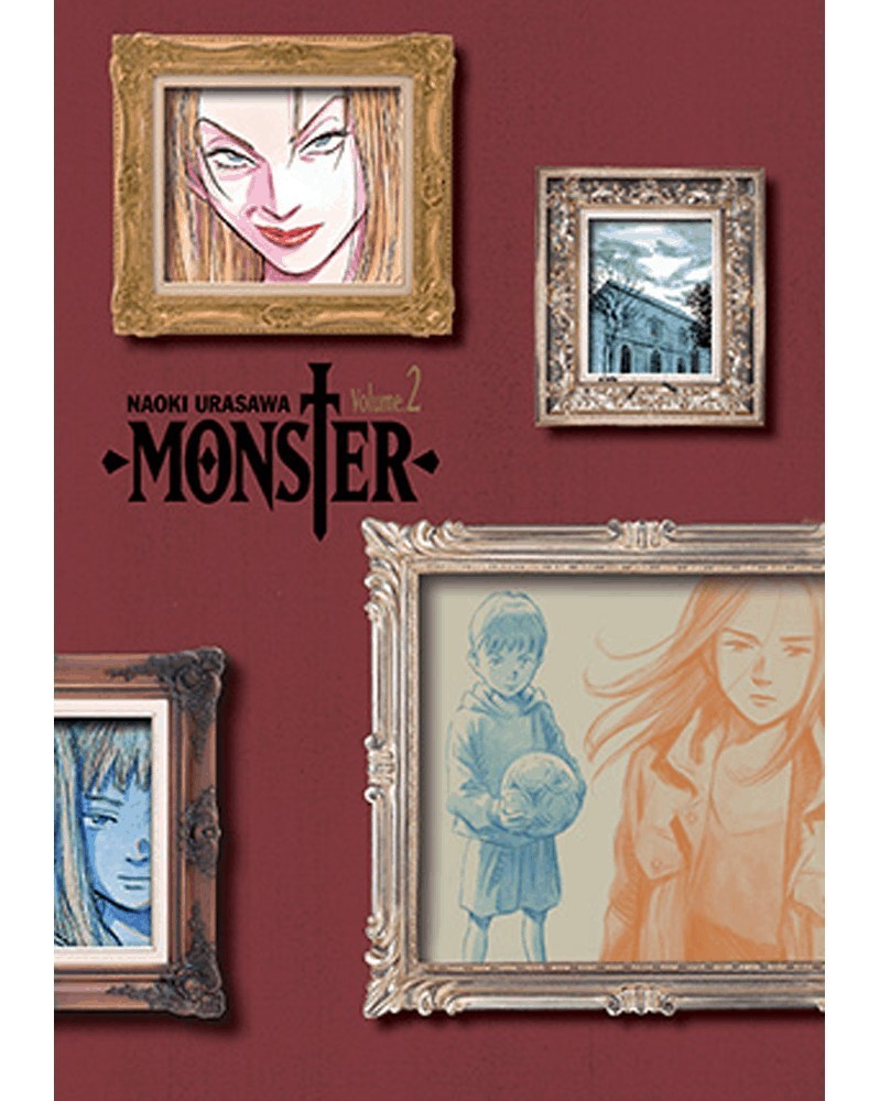 Naoki Urasawa's Monster: The Perfect Edition Vol.2, capa