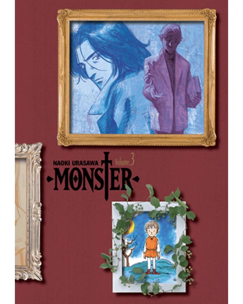 Naoki Urasawa's Monster: The Perfect Edition Vol.3, capa