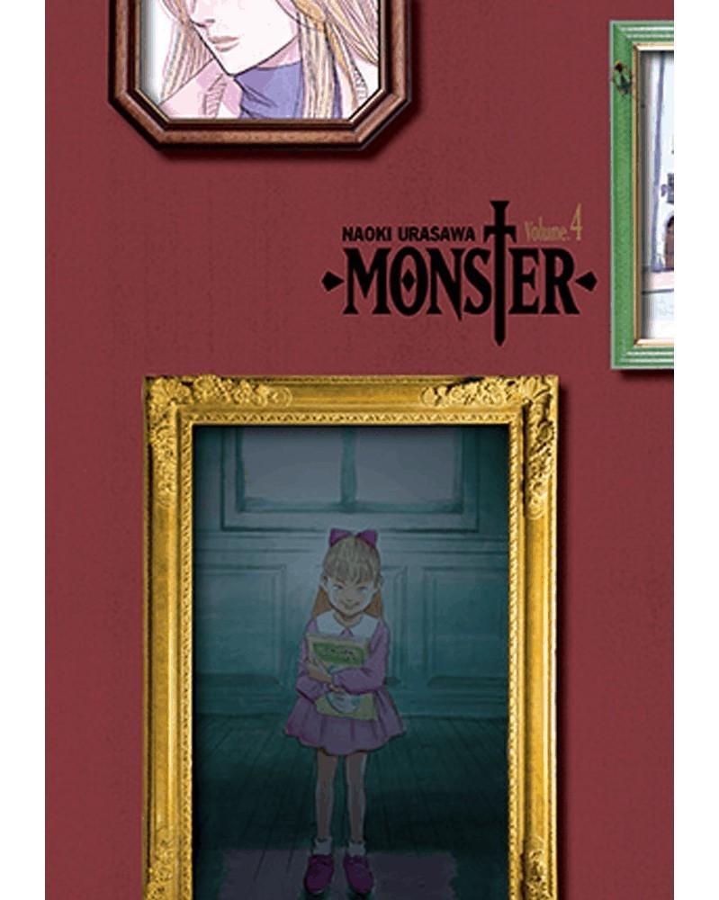 Naoki Urasawa's Monster: The Perfect Edition Vol.4,capa