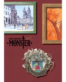 Naoki Urasawa's Monster: The Perfect Edition Vol.5, capa