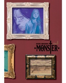 Naoki Urasawa's Monster: The Perfect Edition Vol.8, capa