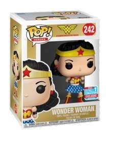 Funko POP Heroes - Wonder Woman (Fall Convention 2018), caixa