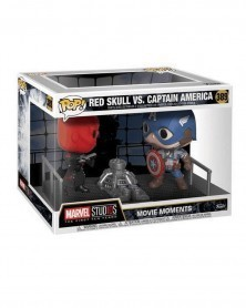 POP Marvel - Movie Moments - Captain America vs. Red Skull, caixa
