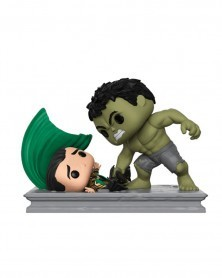 Funko POP Marvel - Movie Moments - Hulk Smashing Loki