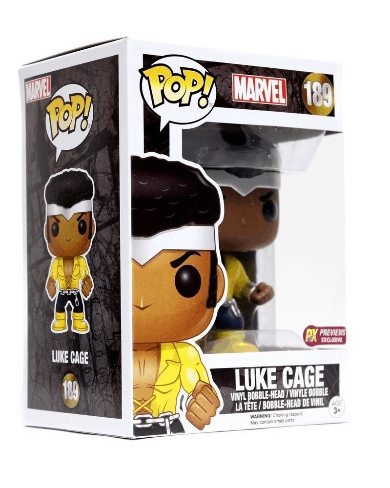 Funko POP Marvel - Luke Cage (Previews Exclusive), caixa