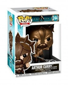 Funko POP Heroes - Aquaman - Arthur Curry as Gladiator, caixa