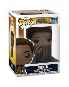 Funko POP Marvel - Black Panther - Nakia, caixa