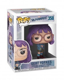 Funko POP Marvel - Runaways - Gert Yorkes, caixa