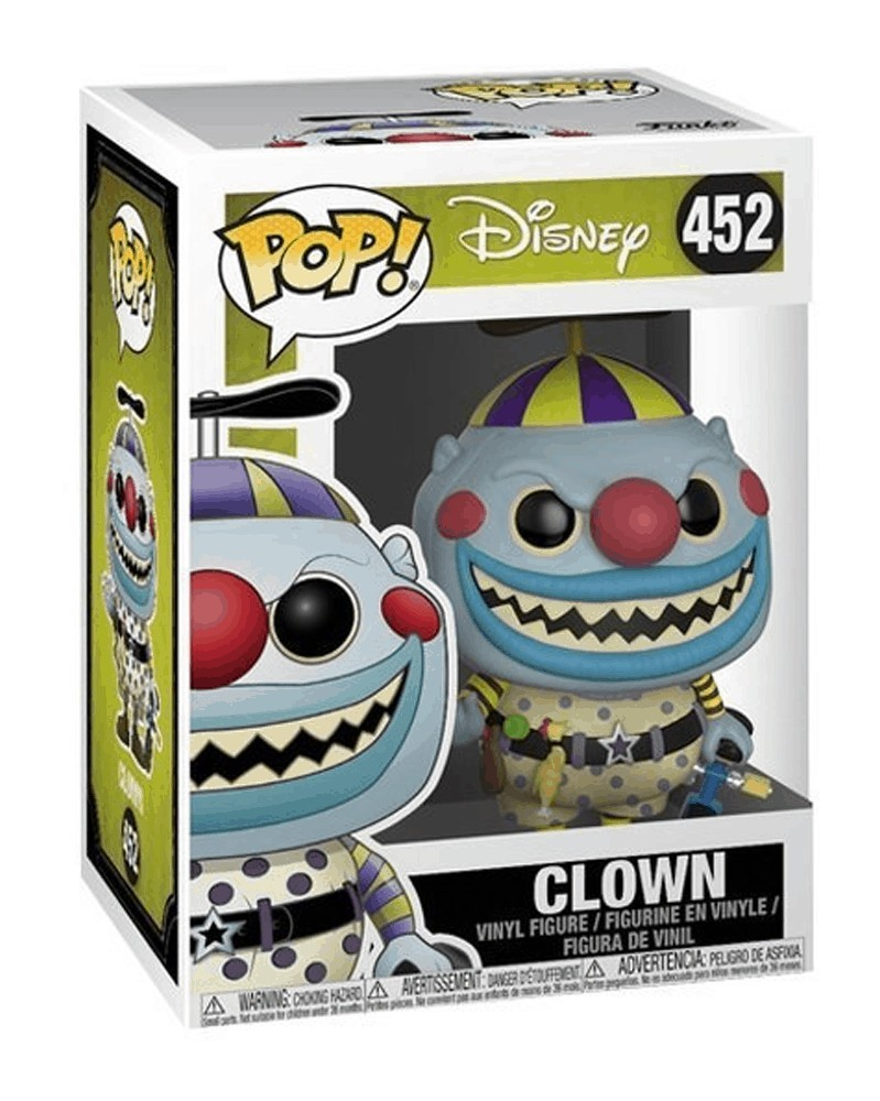 POP Disney - Nightmare Before Christmas - Clown, caixa