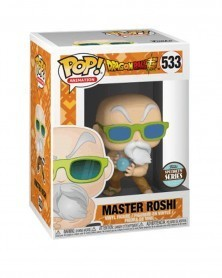 POP Anime - Dragonball Super - Master Roshi (Max Power), caixa