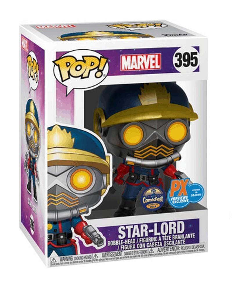 Funko POP Marvel - Star-Lord (Classic), caixa