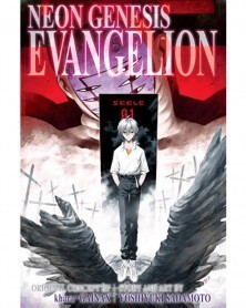 Neon Genesis Evangelion Omnibus Vol.4, capa