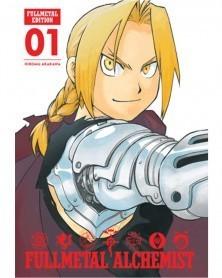 Fullmetal Alchemist - Fullmetal Edition vol.1 HC, capa