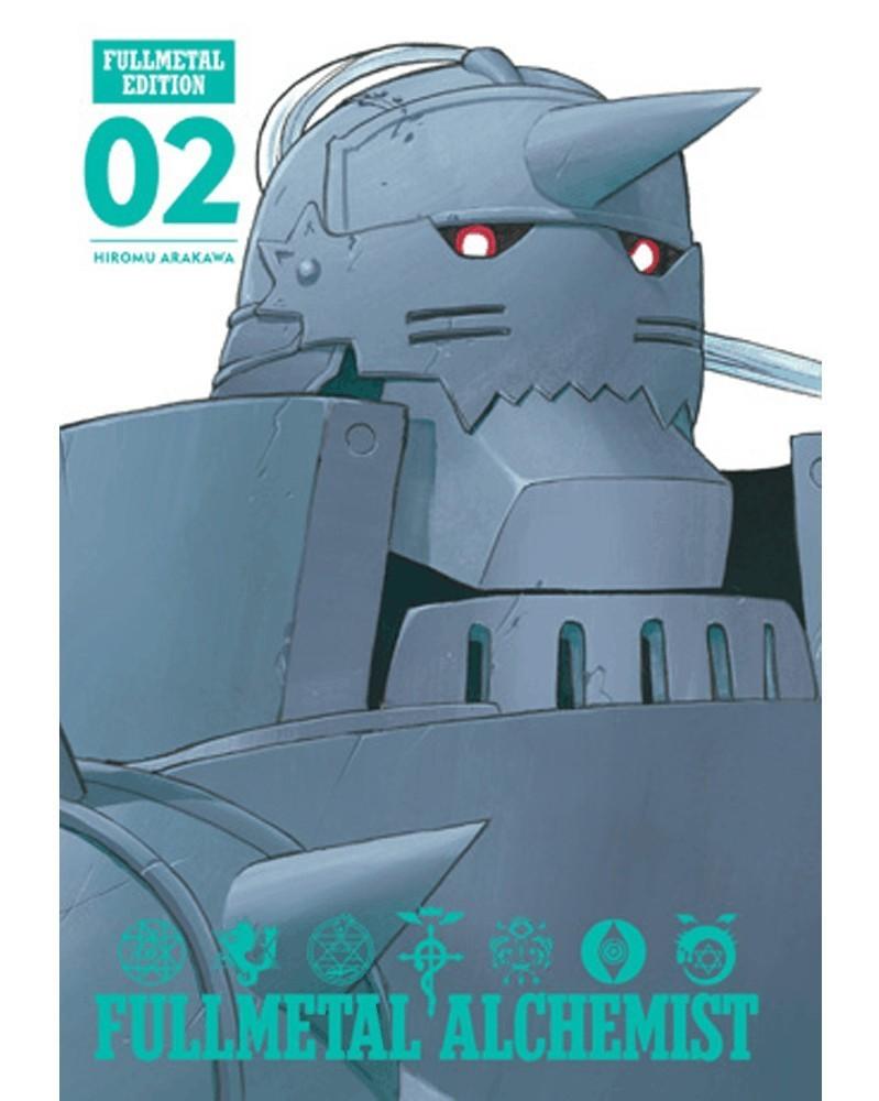 Fullmetal Alchemist - Fullmetal Edition vol.2 HC, capa