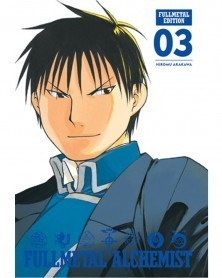 Fullmetal Alchemist - Fullmetal Edition vol.3 HC, capa