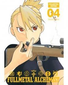 Fullmetal Alchemist - Fullmetal Edition vol.4 HC, capa
