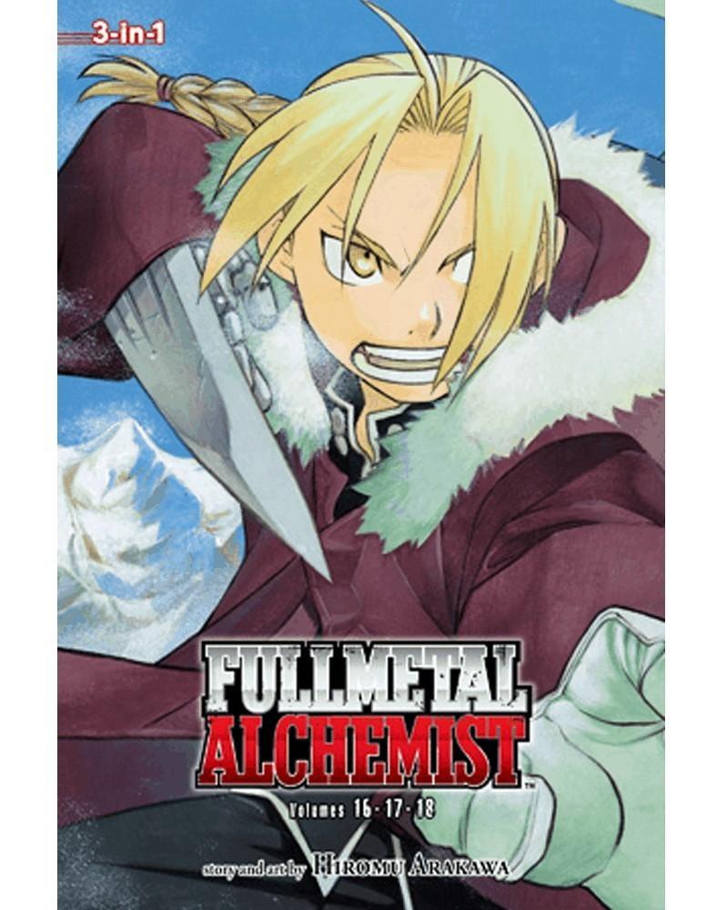 Fullmetal Alchemist 3-in-1 vol.6 (16-17-18), capa
