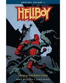 Hellboy Omnibus Vol.1: Seed of Destruction, capa