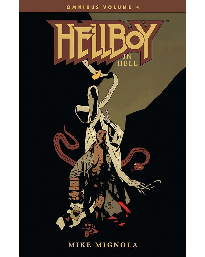 Hellboy Omnibus Vol.4: Hellboy in Hell, capa