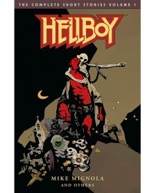 Hellboy: The Complete Short Stories Vol.1, capa