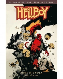 Hellboy: The Complete Short Stories Vol.2, capa