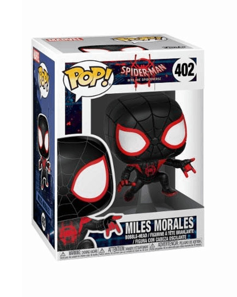 Funko POP Into the Spider-Verse - Spider-Man (Miles), caixa