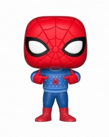 Funko POP Marvel Holiday - Spider-Man (Ugly Sweater)