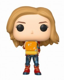 Funko POP Marvel - Captain Marvel with Lunch Box
