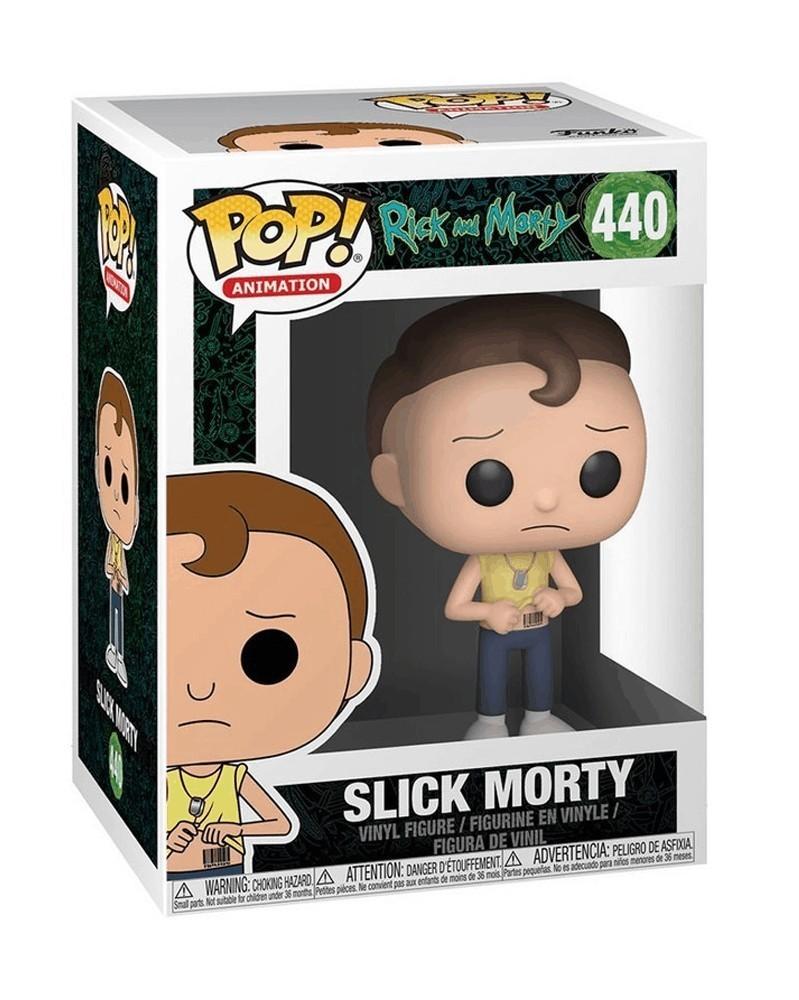Funko POP Animation - Rick and Morty - Slick Morty, caixa