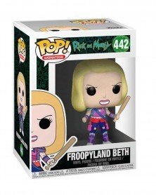 Funko POP Animation - Rick and Morty - Froopyland Beth, caixa