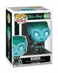 Funko POP Animation - Rick and Morty - Kiara, caixa