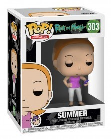 Funko POP Animation - Rick and Morty - Summer, caixa