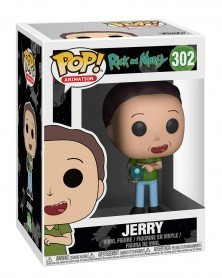 Funko POP Animation - Rick and Morty - Jerry, caixa