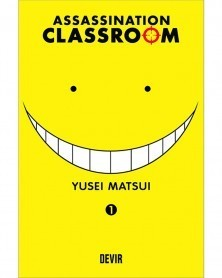Assassination Classroom vol.1 (Ed. Portuguesa) capa