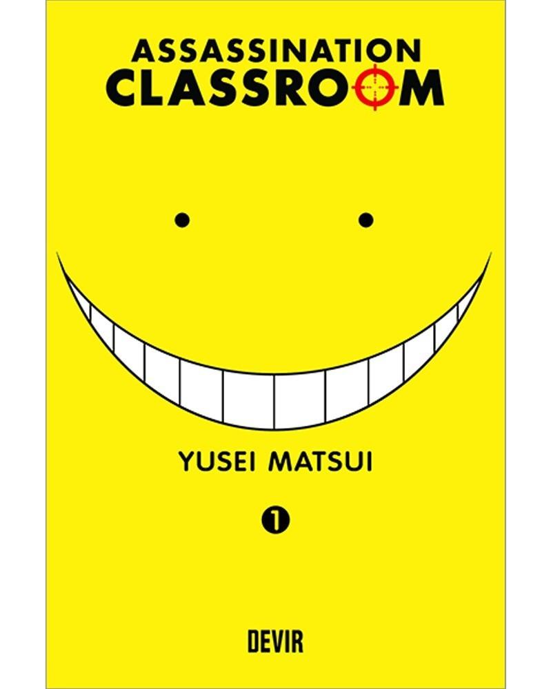 Assassination Classroom vol.1 (Ed. Portuguesa) capa