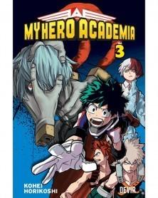My Hero Academia vol.3 (Ed. Portuguesa) Capa