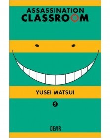 Assassination Classroom vol.2 (Ed. Portuguesa) Capa