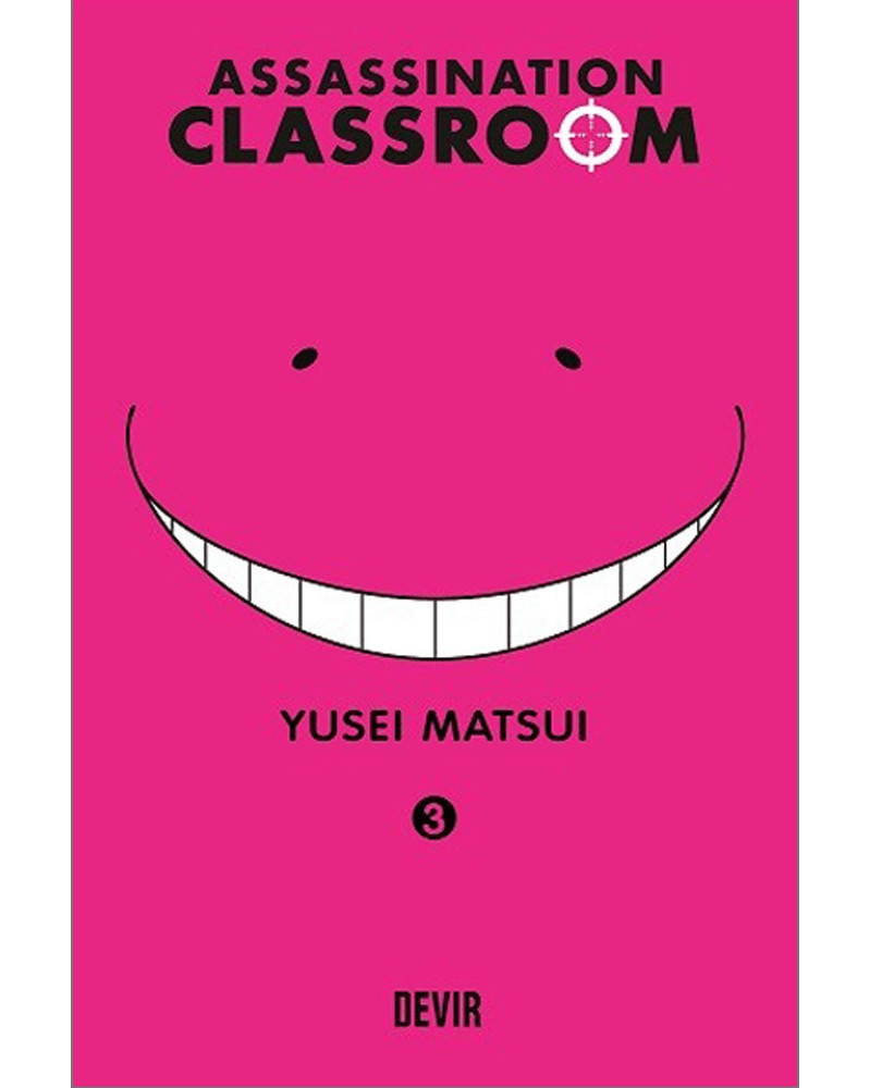 Assassination Classroom vol.3 (Ed. Portuguesa) Capa