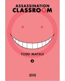 Assassination Classroom vol.4 (Ed. Portuguesa) Capa