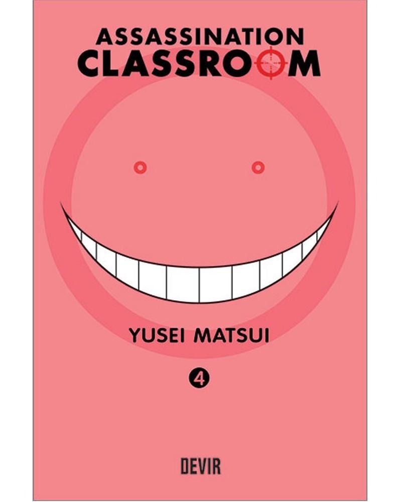 Assassination Classroom vol.4 (Ed. Portuguesa) Capa